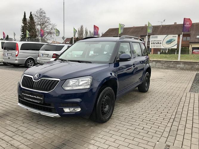 Škoda Yeti 2.0 TDI 81 kW Active 4x4