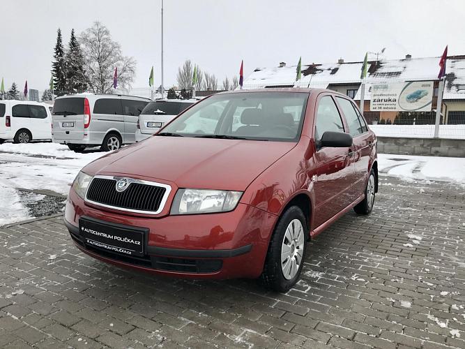 Škoda Fabia 1.2 HTP 40 kW  CZ VŮZ